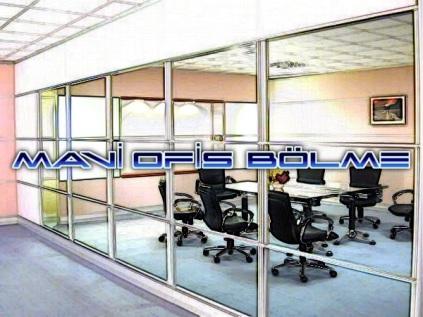 Ofis bölme, Alüminyum bölme, Cam bölme, İş yeri Ara Bölme Sistemleri