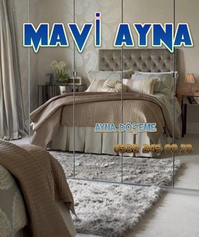 AYNA DÖŞEME, MAVİ CAM, CAM, AYNA İŞLERİ, 0532 245 00 78