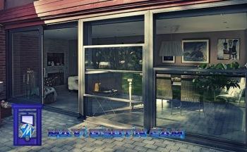 MAVİ, Giyotin cam, Giyotin cam sistemleri, cafe cam sistemleri, 0532 245 00 78