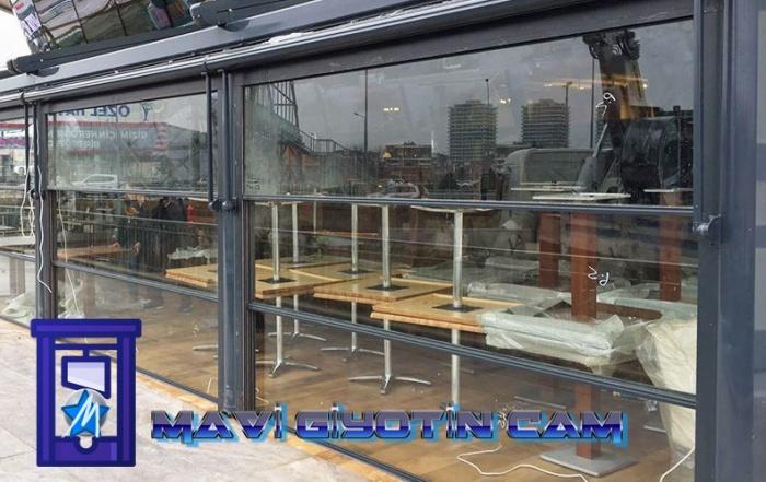 cafe cam sistemleri, dikey hareketli cam sistemleri, elektrikli cam balkon, Giyotin cam, Giyotin cam sistemleri, giyotinli cam m2 fiyatları, otomatik cam balkon, giyotin pencere