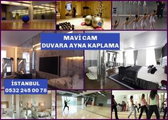 Mavi CAM, duvar ayna kaplama, 0532 245 00 78, İSTANBUL,