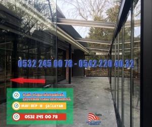 Cafe Cam sistemleri, giyotinli cam sistemleri, Cam ile kapama. MAVİ CAM 0532 245 00 78  Cam ile Kapatma, Cam Kapatma Uygulayıcısı, Mavi Cam, 0532 245 00 78  Kış bahçesi, Kısaca; Cam vb. örtü ile çevrelenmiş içinde oturulabilir bahçe. Çevresi camlarla çevrili küçük cam evler görünümündeki kış bahçeleri, evlerde dört mevsim sıcak ve aydınlık bir bahçe keyfi yaşatır.